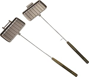 Rome Cast Iron Double Pie Irons, Set of 2