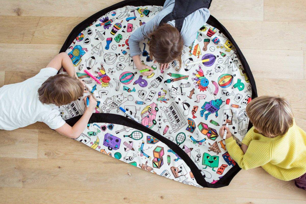 Play and GB OMY Tasche und Deckung Spiele zum Ausmalen