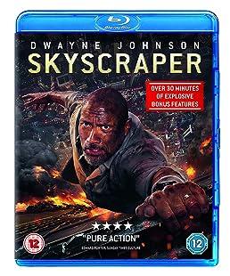 Skyscraper (Blu-ray + Digital Download) [2018] [Region Free]