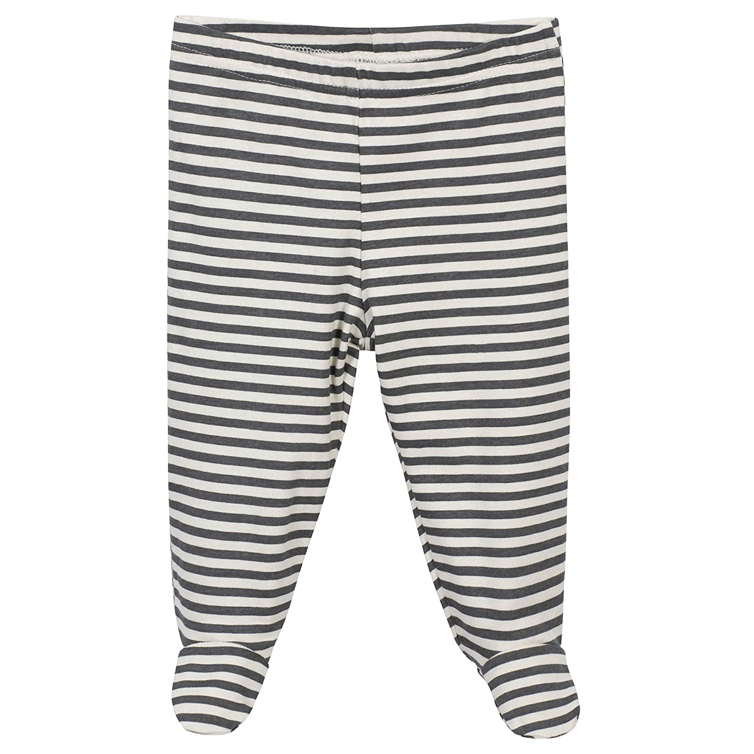 Footed Pant Grow by Gerber Baby Boys Organic 3-Piece Onesies Bodysuit and Cap Set
