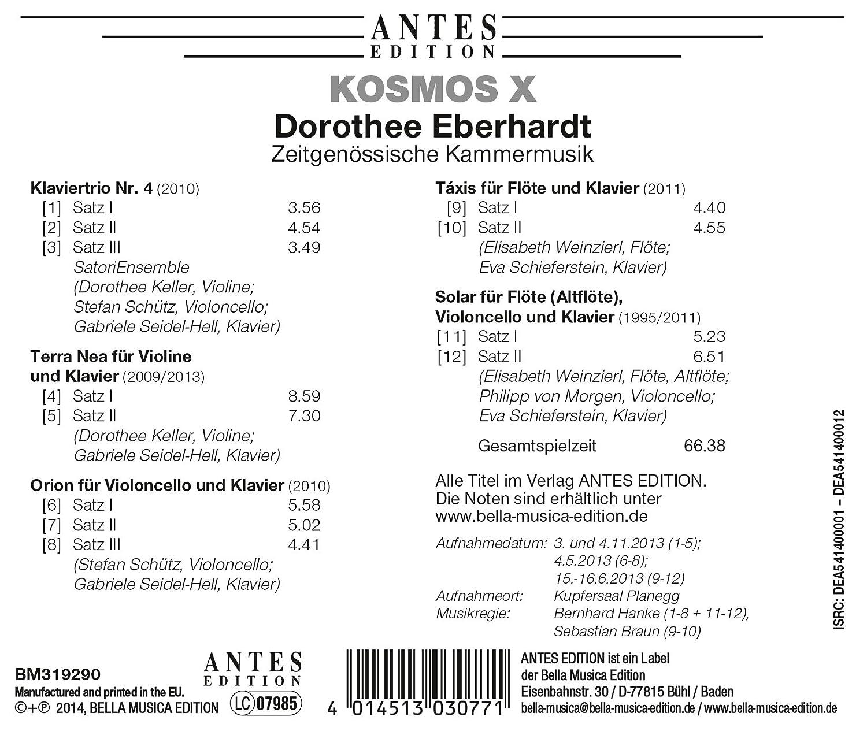 Kosmos X: SatoriEnsemble, Keller, Schuetz, Seidel-Hell, Weinzierl ...