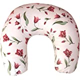 Bottom Genius Feeding Pillow And Positioner With 100% Cotton Baby Printed Slipcover