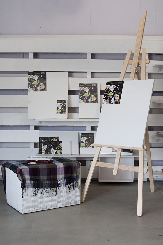 10F Lienzo para pintar de 55 x 46 en bastidor de pino en 100/% Algod/ón