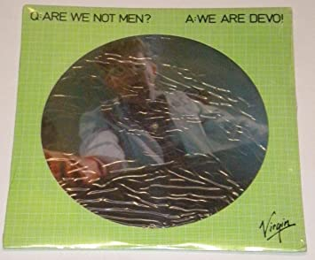 Are We Not Men Uk Lp Picture Disc