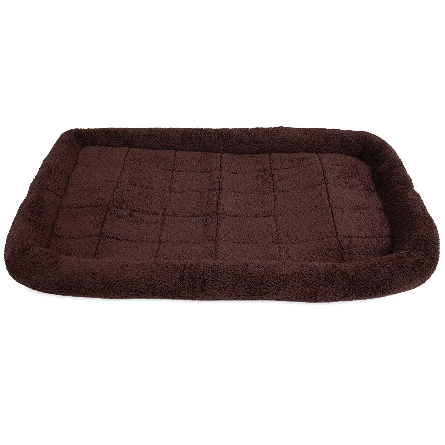 Chocolate Large Chocolate Large Precision Pet SnooZZy Crate Bed 5000, 45-Inch x 32-Inch, Chocolate Cozy