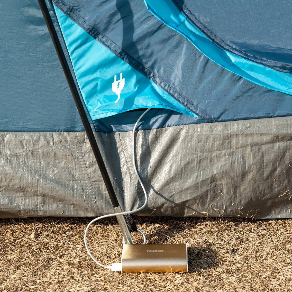 Timber Ridge Large Family Tent for Camping with Carry Bag, 2 Rooms by Timber Ridge (Image #6)
