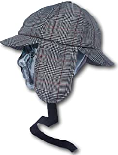 76386bbd0d7 Thorness Traditional Sherlock Holmes Deer Stalker hat Size l XL