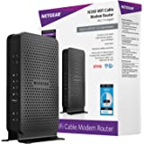 NETGEAR C3000-100NAS N300 (8x4) WiFi DOCSIS 3.0 Cable Modem Router (C3000) Certified for Xfinity from Comcast, Spectrum, Cox,
