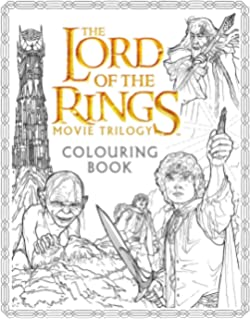 The Lord Of Rings Movie Trilogy Colouring Book