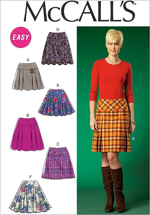 McCall s patrón de costura Fácil | M7022 | patrones de costura ...