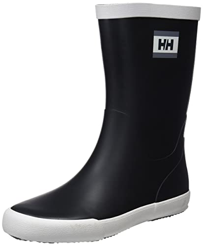 b2d9ab11675 Helly Hansen Men's Nordvik Rain Boots, Black/Off White/Mid Grey ...
