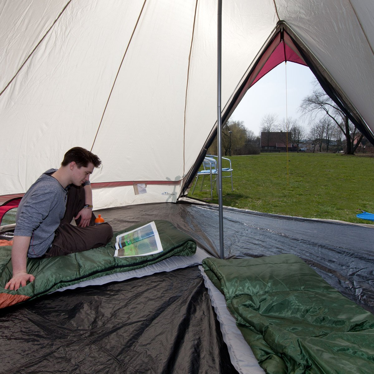 Skandika Waterproof Comanche Unisex Outdoor Frame Tent available in Red - 8 Persons Amazon.co.uk Sports u0026 Outdoors  sc 1 st  Amazon UK & Skandika Waterproof Comanche Unisex Outdoor Frame Tent available ...