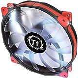 Thermaltake 200mm Luna 20 Series White LED High Airflow Case Fan CL-F026-PL20WT-A