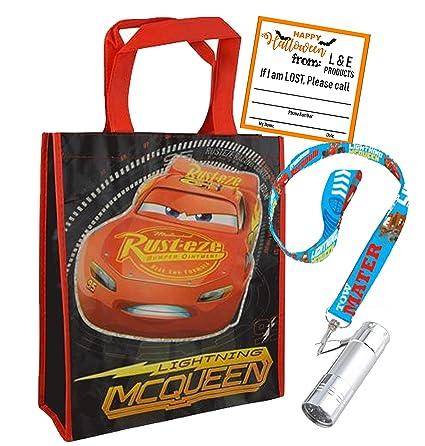 Amazon.com: Cars Lightning McQueen - Bolsa y cordón para ...