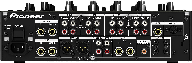 Pioneer - Djm-850-k mezclador dj djm850 negro: Amazon.es ...