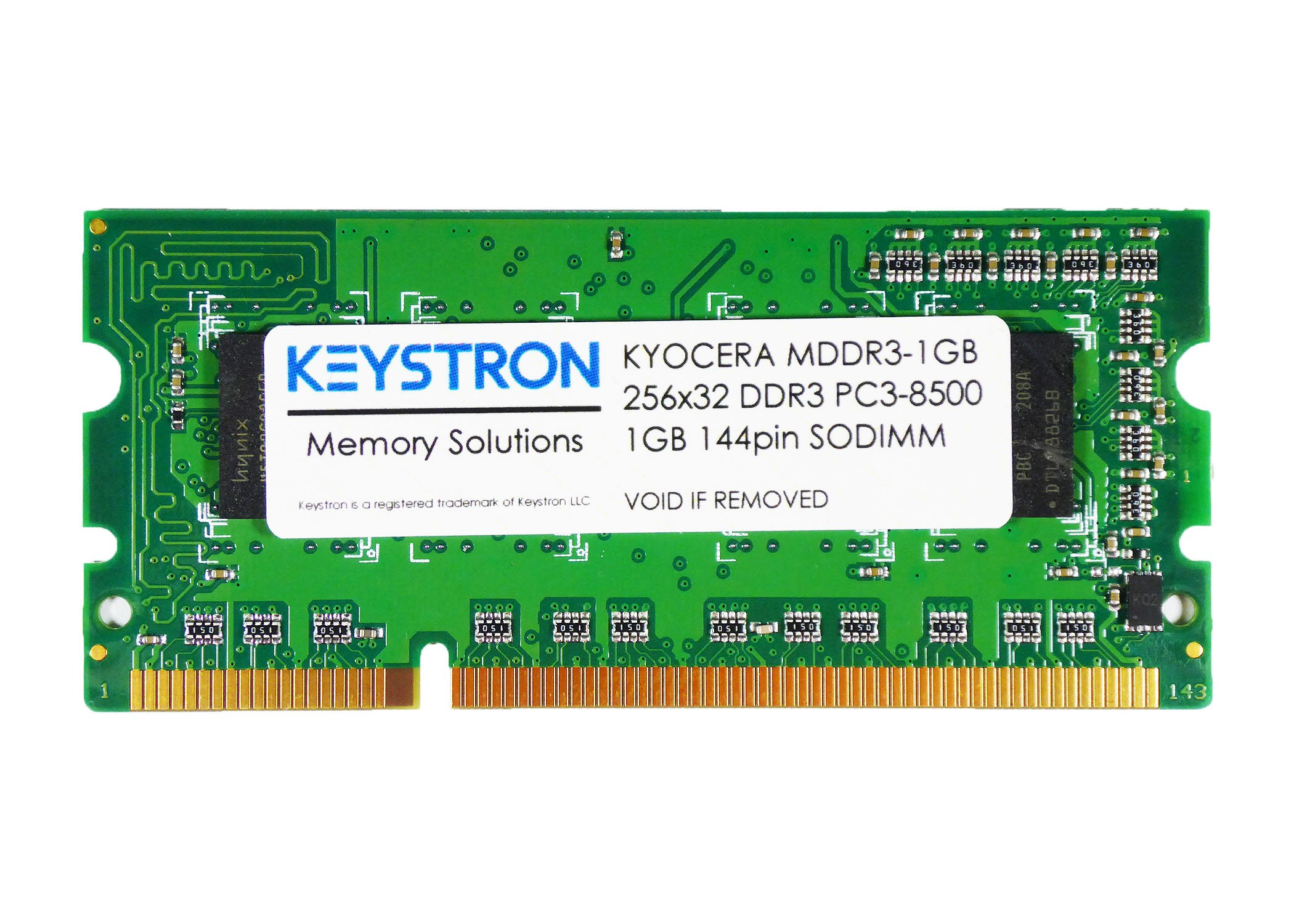 MDDR3-1GB 1GB Memory Upgrade for Kyocera ECOSYS M6026cdn/cidn, M6526cdn/cidn, P6021cdn, P6026cdn, P6030cdn, P7035cdn, P7060cdn Printer by Keystron