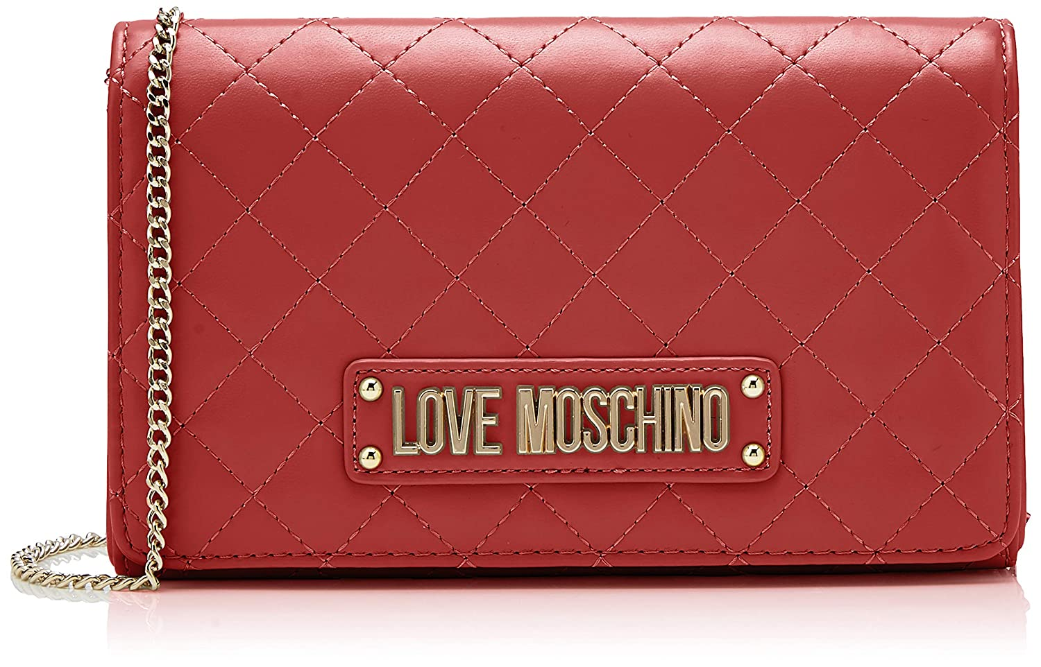 c649e4bc9883 Amazon.com  Love Moschino Quilted Nappa Pu