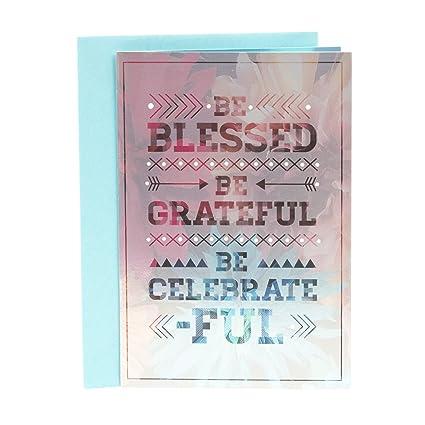 Hallmark Mahogany Religious Birthday Card When God Made You