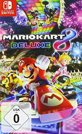 Amazon Com Mario Kart 8 Deluxe Video Games