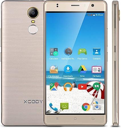 XGODY D20 5.5 Pulgadas Smartphone Android 6.0 Libre 3 G Huella ...