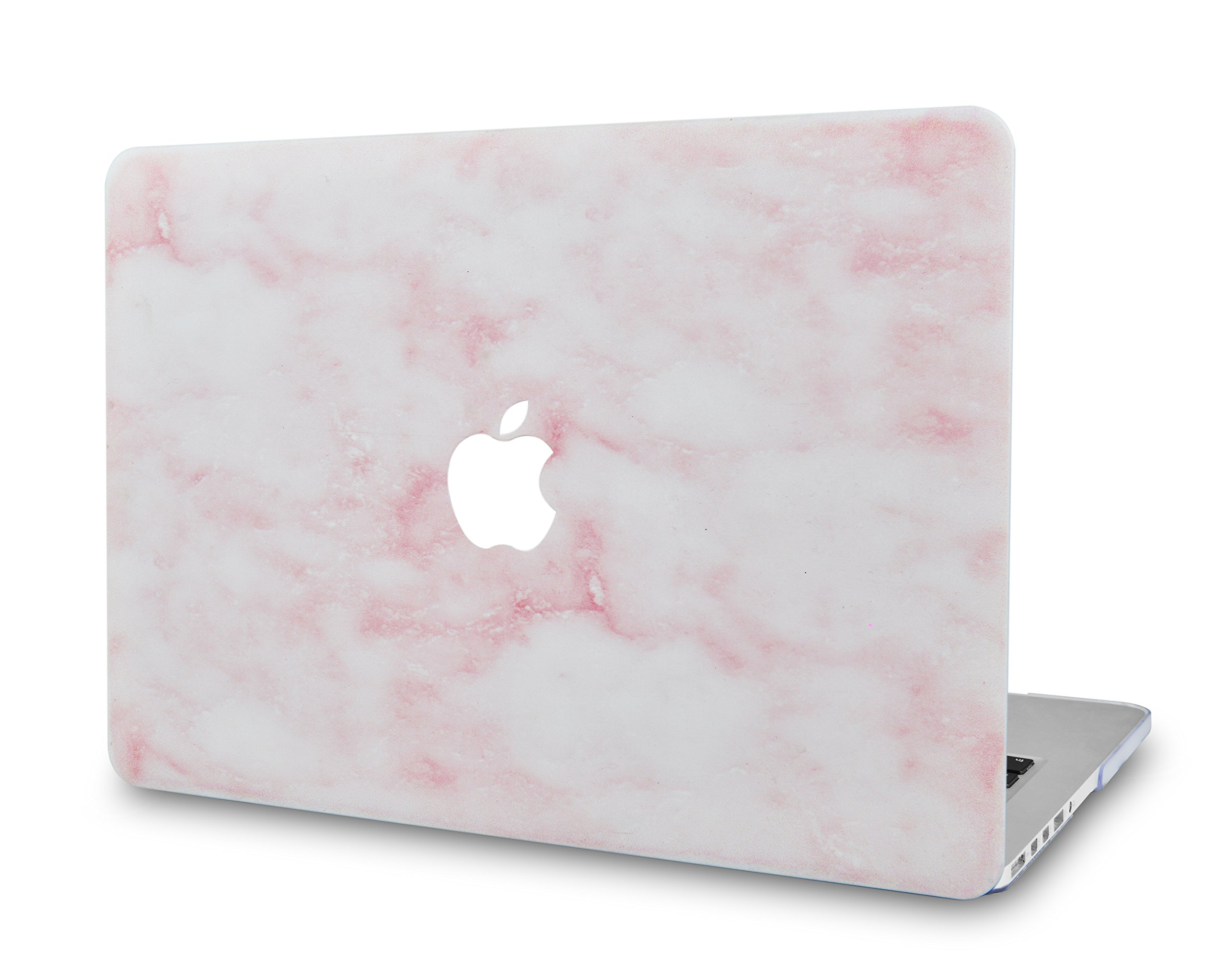LuvCase Rubberized Plastic Hard Shell Cover Compatible MacBook Pro 13 inch A2159 / A1989 / A1708 / A1706 with/Without Touch Bar, Newest Release 2019/2018/2017/2016 (Pinky Marble)