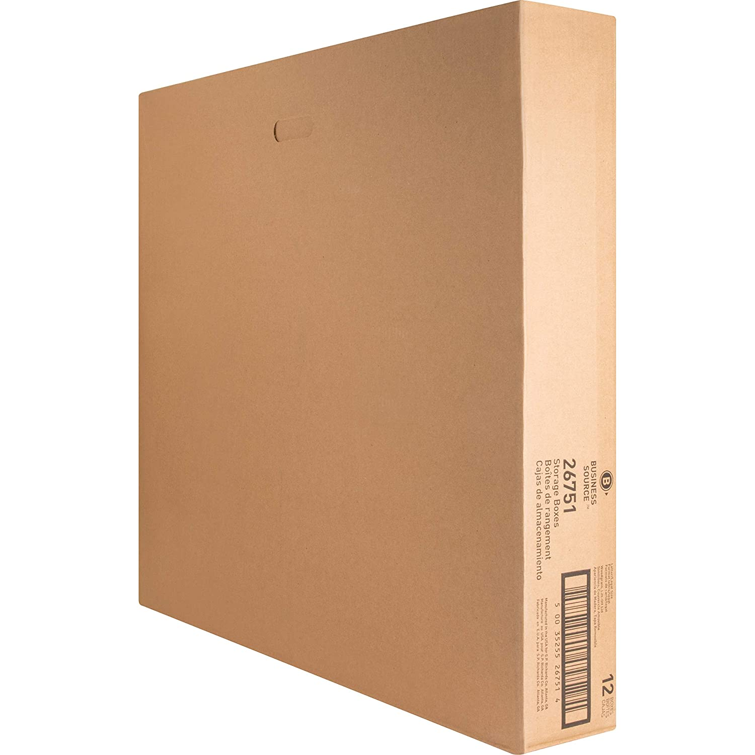 Amazon.com : Business Source Economy Medium-Duty Storage Boxes : Office Products