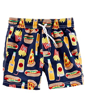 362a0fc6de Image Unavailable. Image not available for. Color: Carter's Baby Boys' Food  Print Swim Trunks, 18 Months