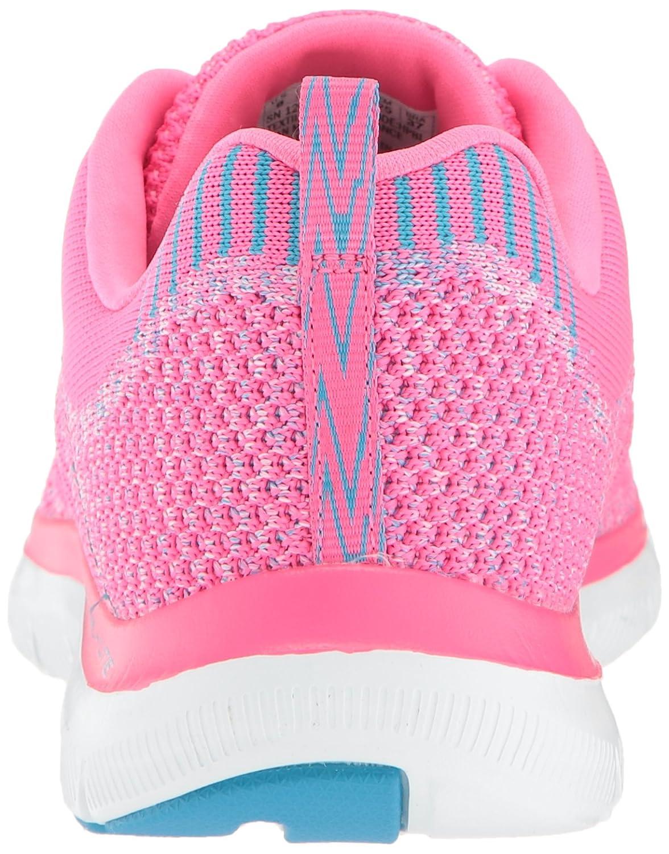 Skechers B07517DG8R Women's Flex Appeal 2.0-New Gem Sneaker B07517DG8R Skechers 5 B(M) US|Hot Pink/Blue 4c8e93