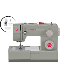 Singer  Heavy Duty 4452 Sewing Machine With Accessories, 32 Built-In Stitches, 60% Stronger Motor, Stainless Steel...