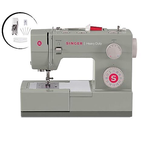 amazon com singer heavy duty 4452 sewing machine with accessories rh amazon com Sewing Machine Instruction Manual Japan Vintage Sewing Machine Manuals