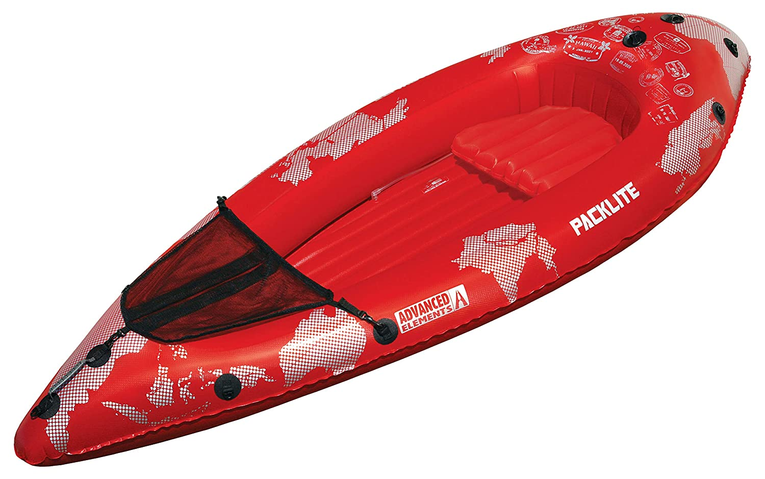 Advanced Elements Pack PackLite Kayak, Unisex Adulto, Rojo, 240 x ...