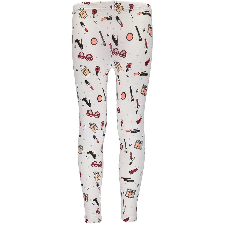 Pink Velvet Girls Printed Solid Color Legging 2-Pack