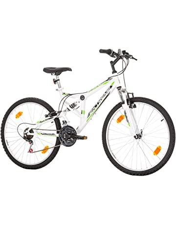 Multibrand Distribution 26 Pulgadas, CoollooK, Extreme, Unisex, Bicicleta de montaña,Doble