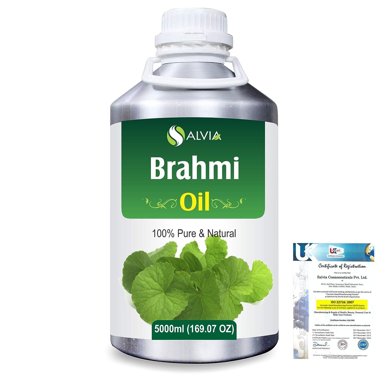 Brahmi (bacopa monniera) 100% Natural Pure Oil 5000ml/169fl.oz. B07R3ZM3QT