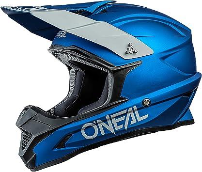 O Neal Motocross Helm Mx Enduro Abs Schale Sicherheitsnorm Ece 22 05 Lüftungsöffnungen Für Optimale Belüftung Und Kühlung 1srs Helmet Solid Erwachsene Sport Freizeit