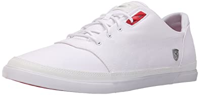 PUMA Men's Bombato SF NM Fashion Sneakers, White, ...