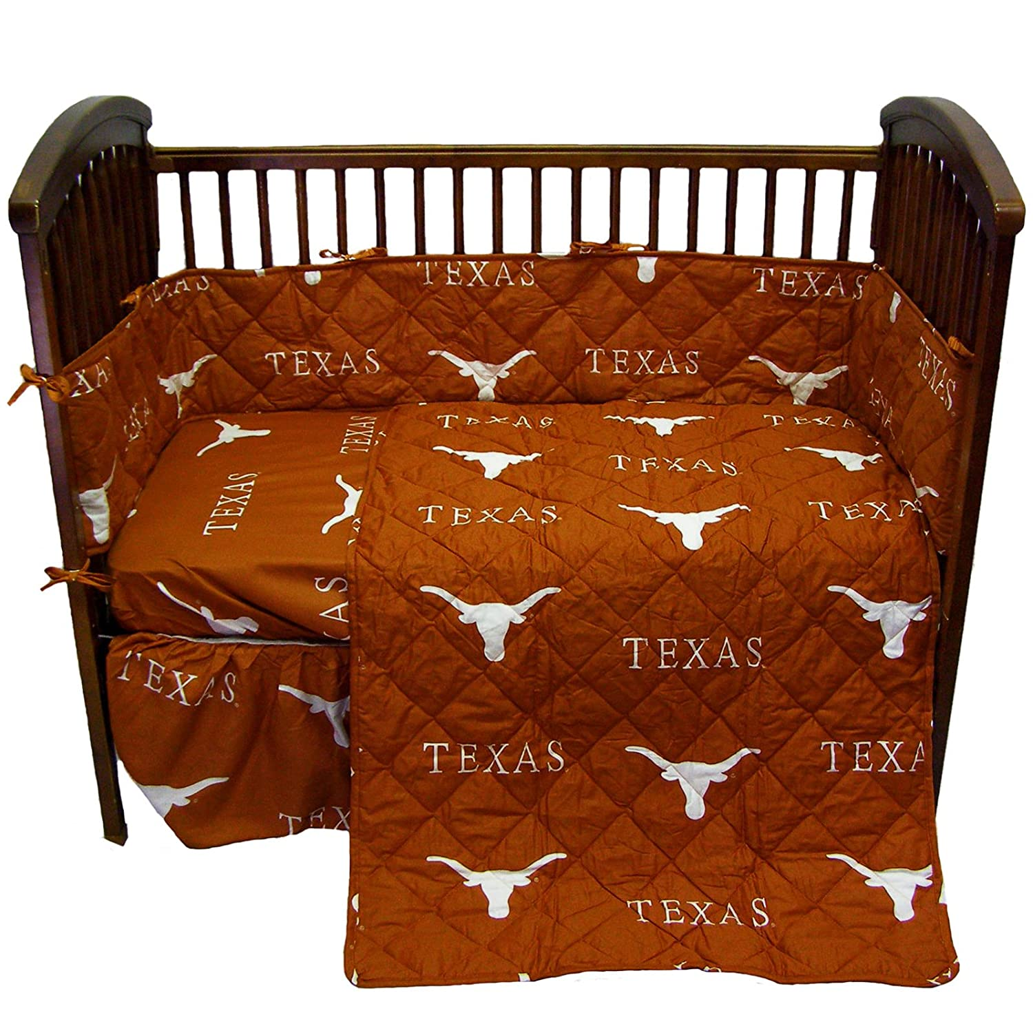 College Covers Texas Longhorns 5ピースベビーベッドセット   B006FZ9NO8