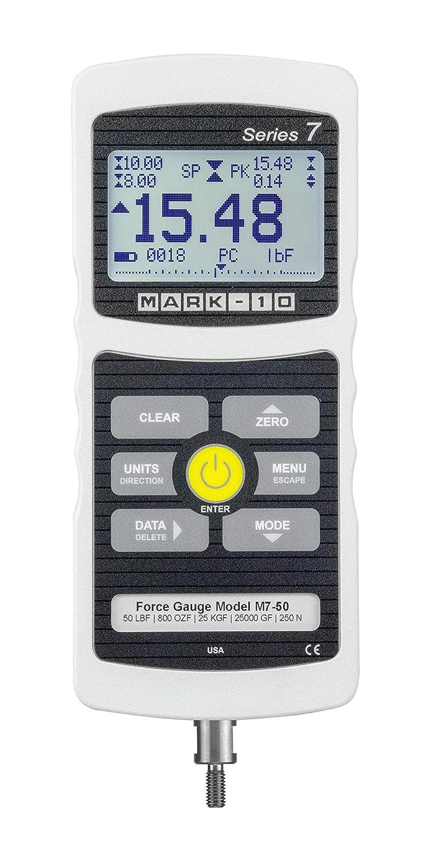 Mark-10 M7-100 Series M7 Digital Force Gauge 100lbF Capacity
