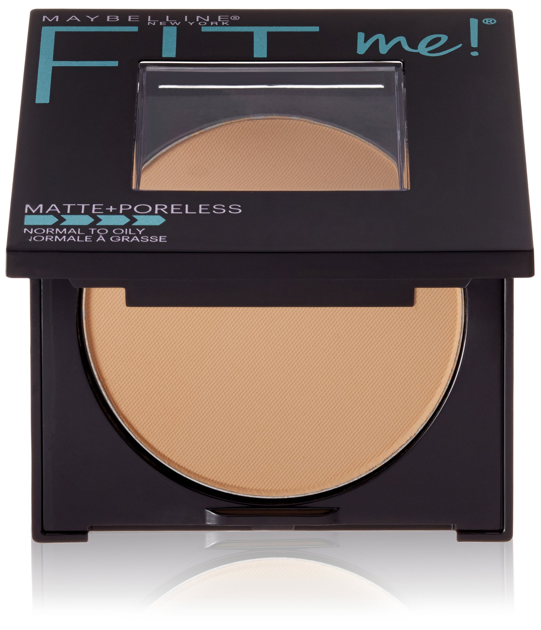 Maybelline New York Fit Me Matte Plus Poreless Powder, Toffee, 0.29 Ounce