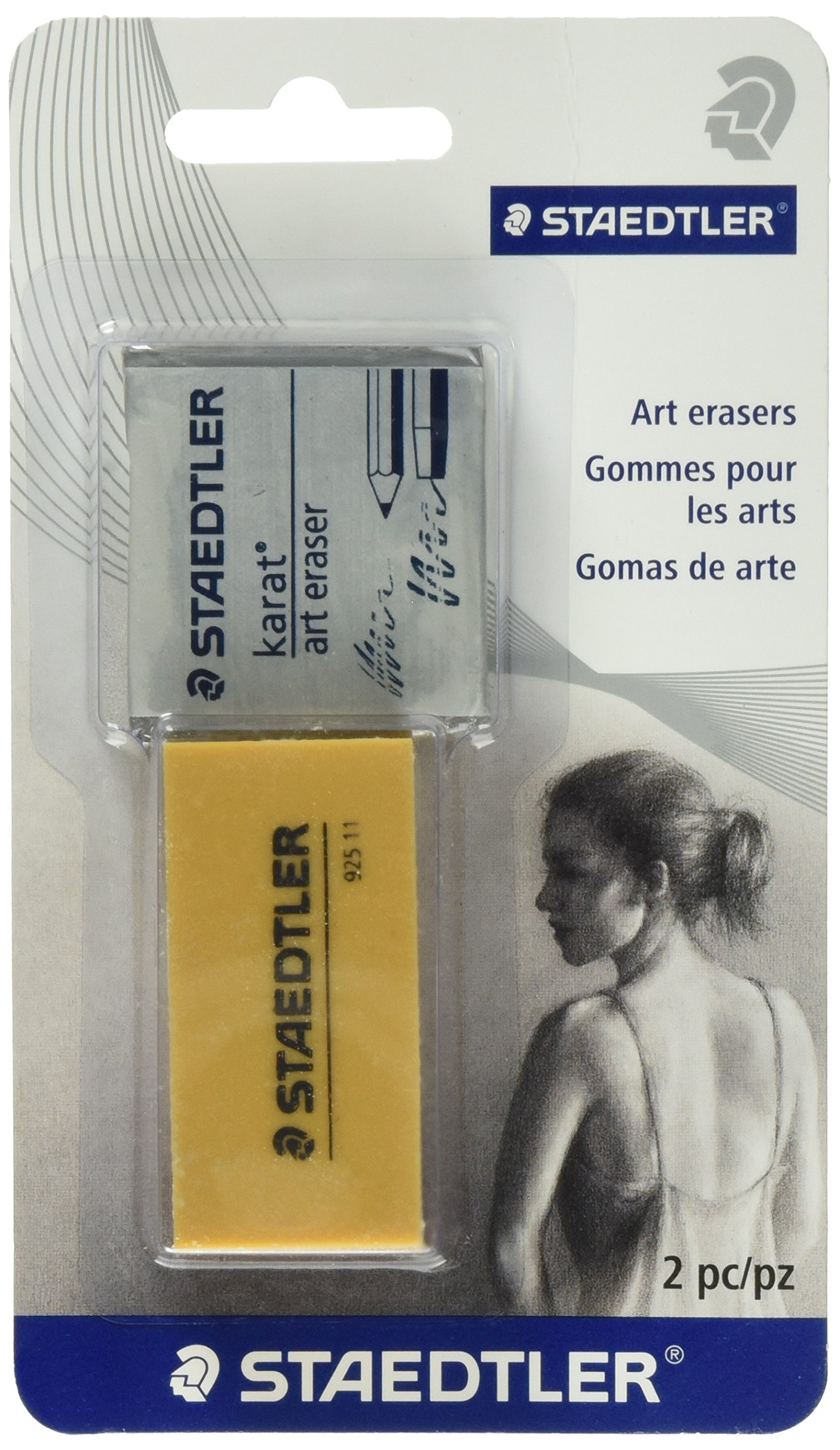 Staedtler art eraser (5427 BK2A6 NA)