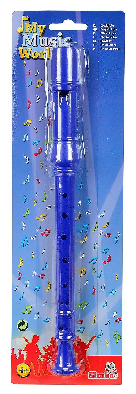 Blasinstrumente My Music World Blockflöte Kinder Blockflöte 33 cm Flöte