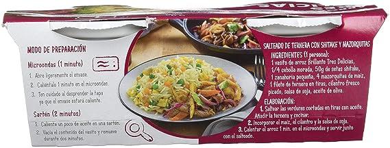 Brillante Arroz Tres Delicias 125G X 2 - [Pack De 8] - Total 2 Kg: Amazon.es: Alimentación y bebidas