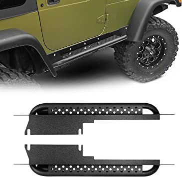 Smittybilt 76871 XRC Rock Slider with Step for 1997-2006 Jeep Wrangler TJ