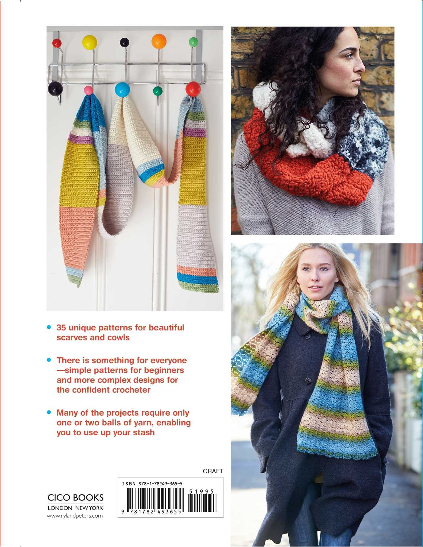 Crocheted Scarves and Cowls: 35 colorful and contemporary crochet ...