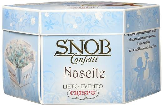 51 opinioni per Crispo Confetti Snob Lieto Evento- Colore Celeste- 4 confezioni da 500 g [2 kg]