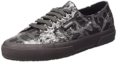 Superga Unisex-Erwachsene 2750-Paicamow Sneakers, Silber, 35 EU