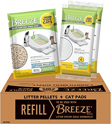 The Breeze Cat Litter Pellets