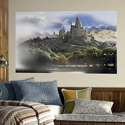 RoomMates RMK4455PSM Harry Potter Hogwarts Peel and Stick Mural