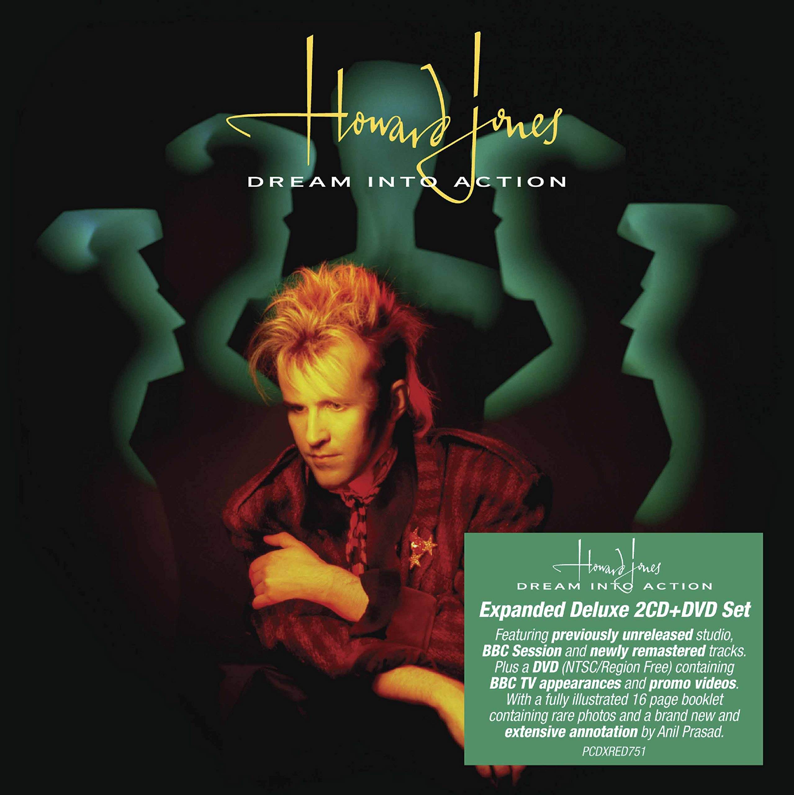 CD : Howard Jones - Dream Into Action (With DVD, Expanded Version, Deluxe Edition, Digipack Packaging, United Kingdom - Import)