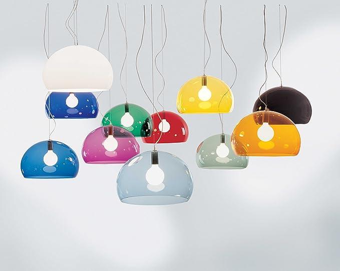 Plafoniere Kartell : Kartell fl y lampada a sospensione confezione da pezzo bianco